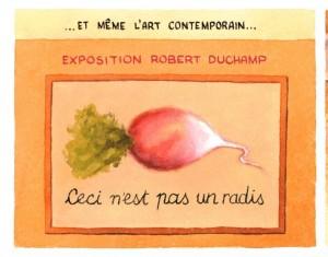 parodie Magritte
